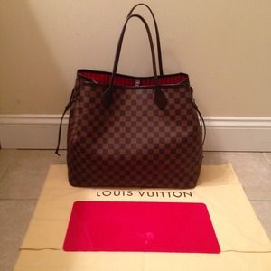 Louis Vuitton Bags - 🚫SOLD via eBay🚫 LV Damier Ebene Neverfull GM 2b5c8401c2db6