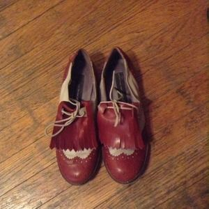 Steve Madden vintage Oxford shoes