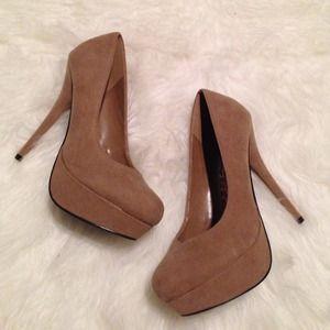 Forever 21 Ankle Strap Sandal Metallic Heels Zara