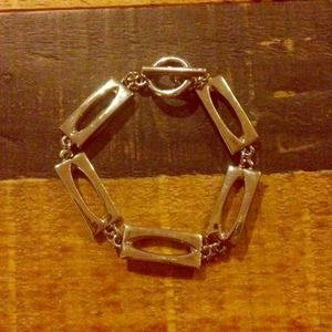 White House Black Market Jewelry - Silver Link Bracelet