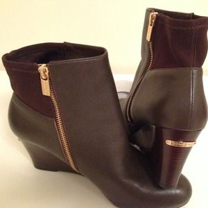 REDUCED - PayPal Michael Kors Wedge Boots