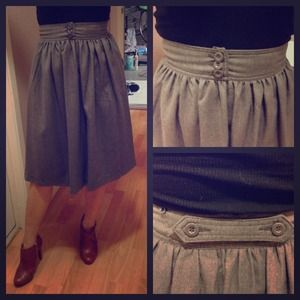 Vintage fall skirt by Mango