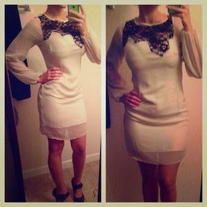 Gorgeous fall dress!