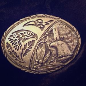 made in the USA Accessories - Eagle Belt Buckle
