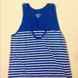 Jcrew Nautical Blue Stripes
