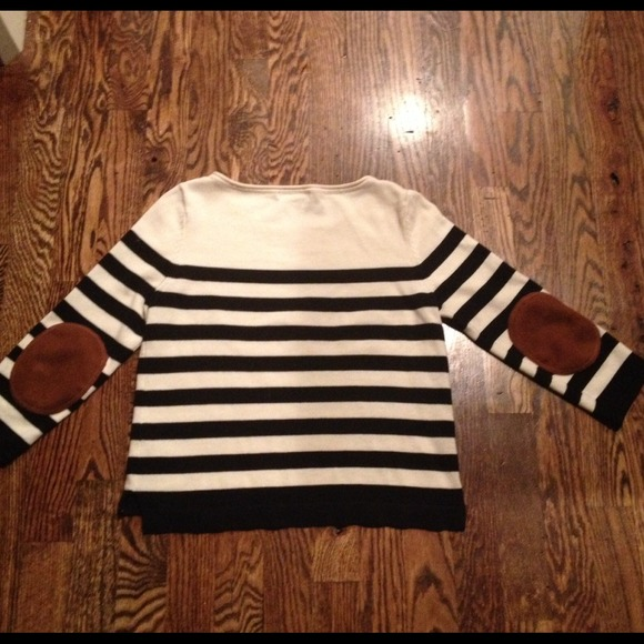 H&m Sweater W/elbow Patches
