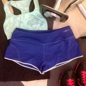VSX Blue & Turquoise Athletic Shorts