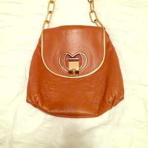 Tan leather Marc Jacobs bag!