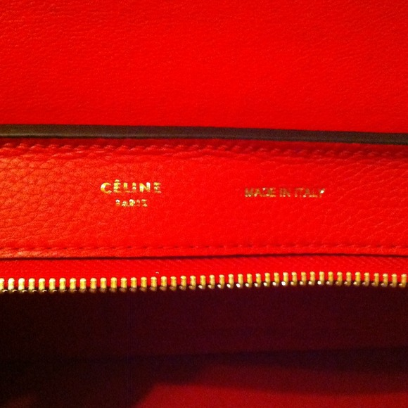 celine - Celine Red Trapeze bag brand new from Barney\u0026#39;s from ...