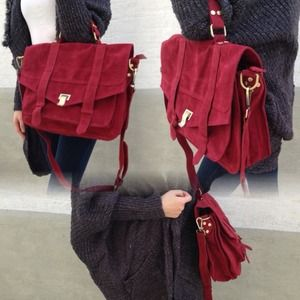 Bags - 🎉Host Pick🎉Vintage suede messenger bag 3
