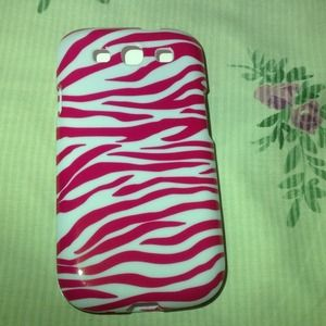 Cover For Galaxy S3 / i9300 Hot Pink & WhiteNWT for sale