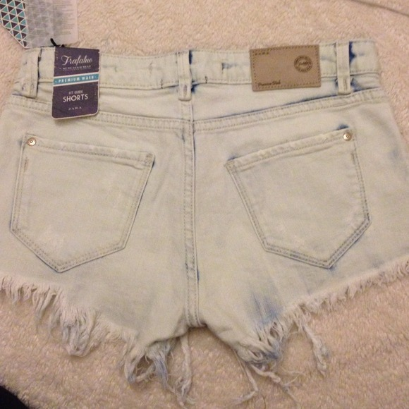 Zara Jeans - Light blue shorts