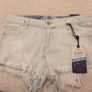 Zara Jeans - Light blue shorts