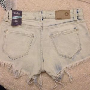 Zara Jeans - Light blue shorts 2