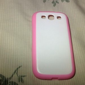 Cover For Galaxy S3 / i9300 Pink & WhiteNWT for sale