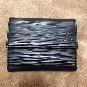 Black Inspired LV Wallet