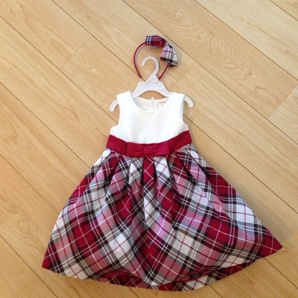 reduced gymboree christmas dress 2t