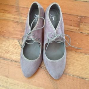 Zara TRF light gray heels