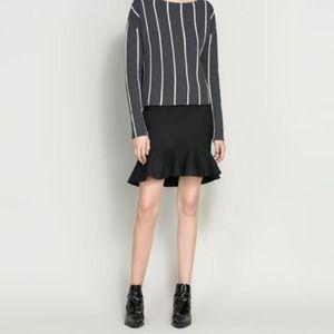 Brand new zara fishtail skirt