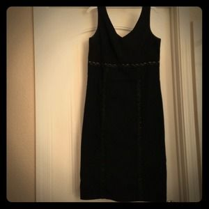 Jonathan Martin Studio Black Shift Dress Sz10