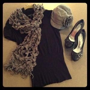 Express cap sleeve sweater
