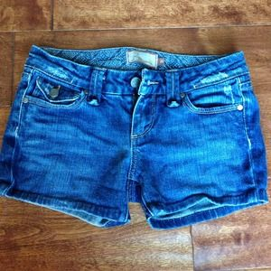 Paige short shorts denim