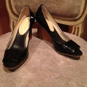 ☀☀Summer Sale☀☀Patent leather Peep Toe Wedge