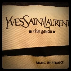 Yves Saint Laurent Jackets & Blazers - Black Velvet YSL Jacket 36