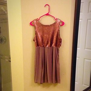 Sequin Romeo and Juliet Couture dress