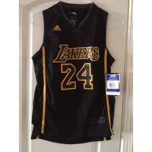 Tops - (HOLD) Authentic Lakers Jersey.  Kobe Bryant.