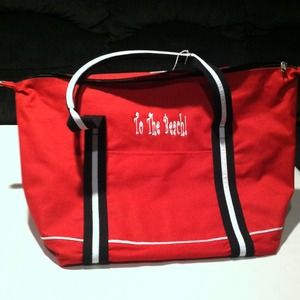 "Handbags - NWT Red ""To The Beach"" Tote"