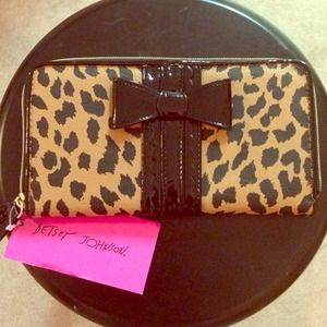 Betsey Johnson Clutches & Wallets - Betsey Johnson Bow Tied Wallet