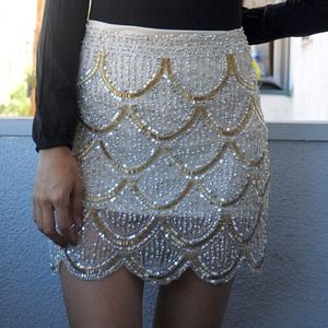 Dresses & Skirts - 20s inspired sequin skirt