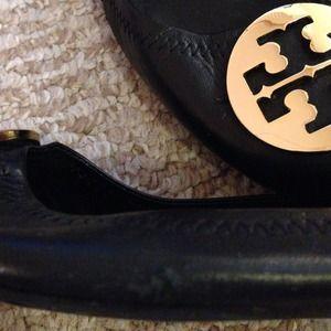 Tory Burch Shoes - Authentic Tory Burch Reva flats, black size 7
