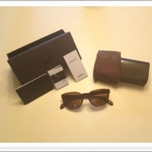 Persol Accessories - Persol Tortoise Brown Sunglasses