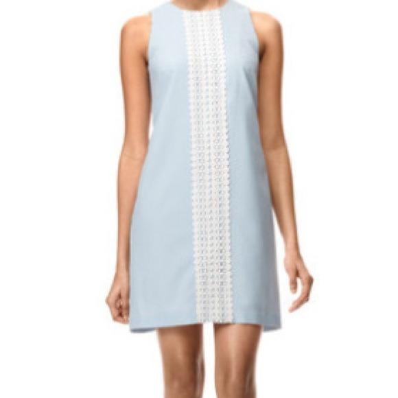 London Times Dresses | Worn Once Seersucker Shift Dress | Poshmark