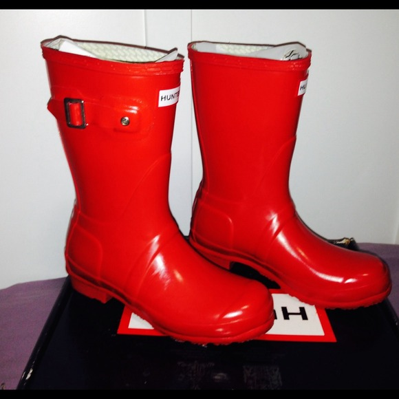 42% off Hunter Boots - 🎉HOST PICK🎉 Original Short Gloss Rain ...