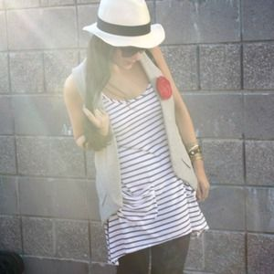 Tart Tops - Tart Striped Long Tank
