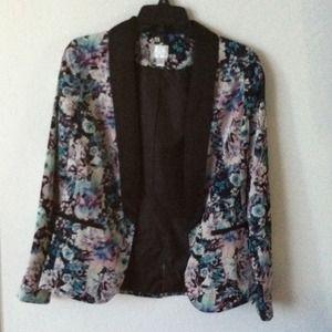 Jackets & Blazers - LC Lauren Conrad Tuxedo Blazer
