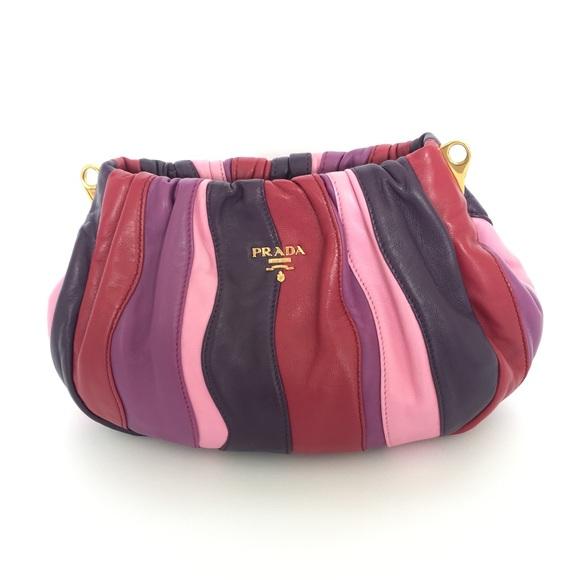 8bf417be1 Prada Bags   Authentic Nappa Trembled Blossoms Stripe   Poshmark