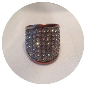 Jewelry - Rhinestone Metal Ring FREE with purchase
