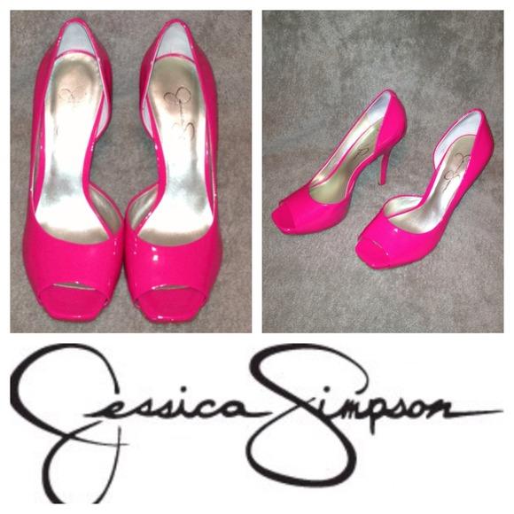 d030d92b7be81 PRICE ✂ 2/12 Jessica Simpson Pink Josette Pumps 🎀