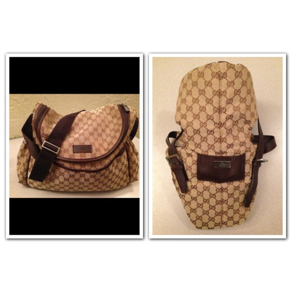 742167be7d47e0 Gucci Other | Authentic Diaper Bag And Infant Carrier | Poshmark