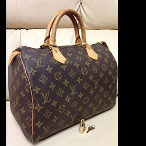 Authentic Louis Vuitton Speedy 30GONE
