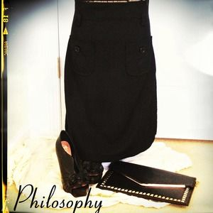 Philosophy A-Line Skirt