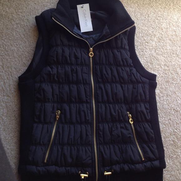 Calvin klein gold vest