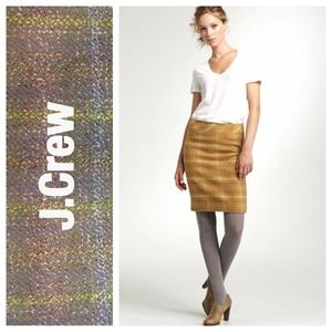 ⚡️J.Crew Gray Sunnie Pencil Skirt