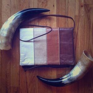 Judith Leiber vintage snakeskin leather bag