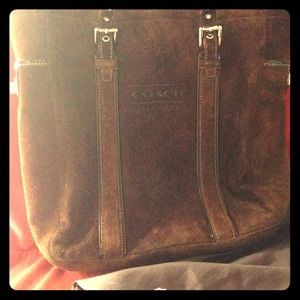 RARE auth Coach Ed Legacy handbag