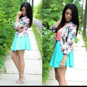 Jackets & Blazers - Multi Color Floral Blazer